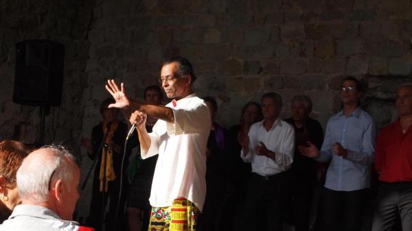 Concert au château de Boulogne (07), le 5 juin 2016