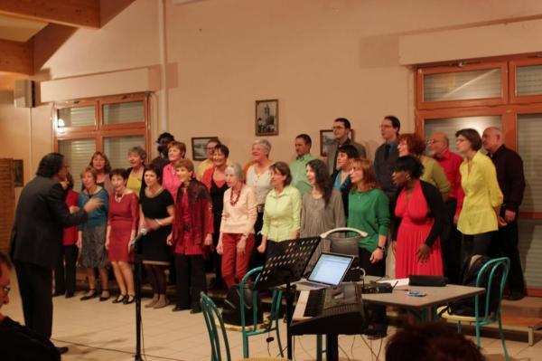 Concert de Bog'Indigo à Saint-Etienne de Boulogne en décembre 2012