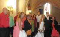 Mariage à Landos (Haute-Loire), juillet 2014