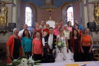 Mariage à Lablachère, août 2015